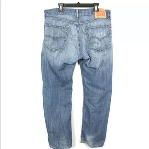 Levi's 505 Regular Fit Straight Leg Jeans Denim